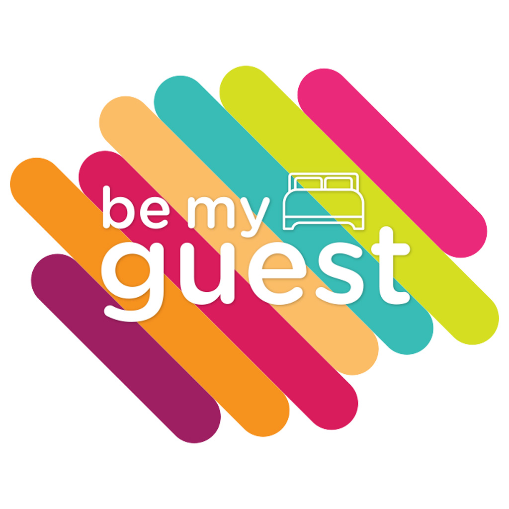 Logotipo de Be my guest