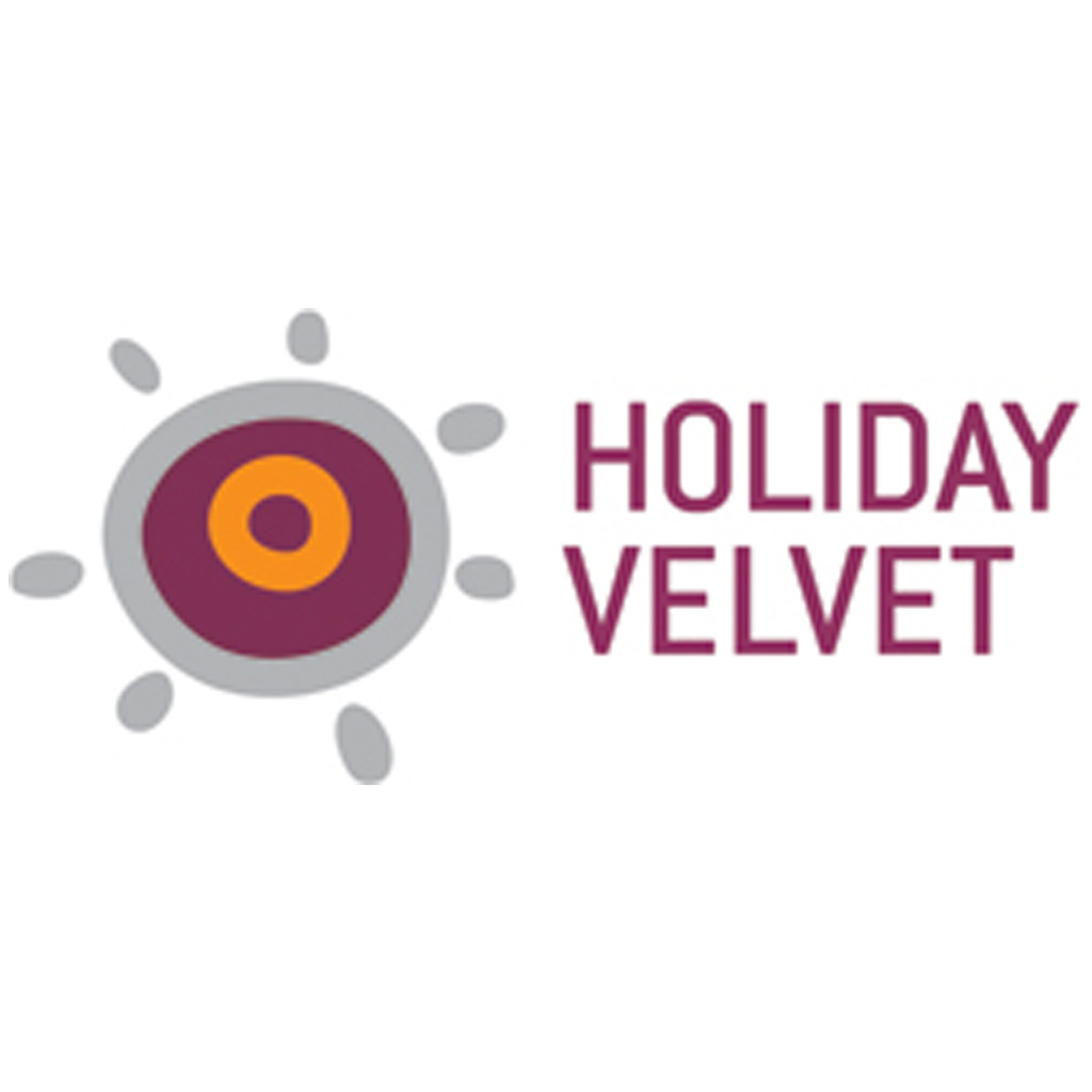 Logotio de Holiday Velvet